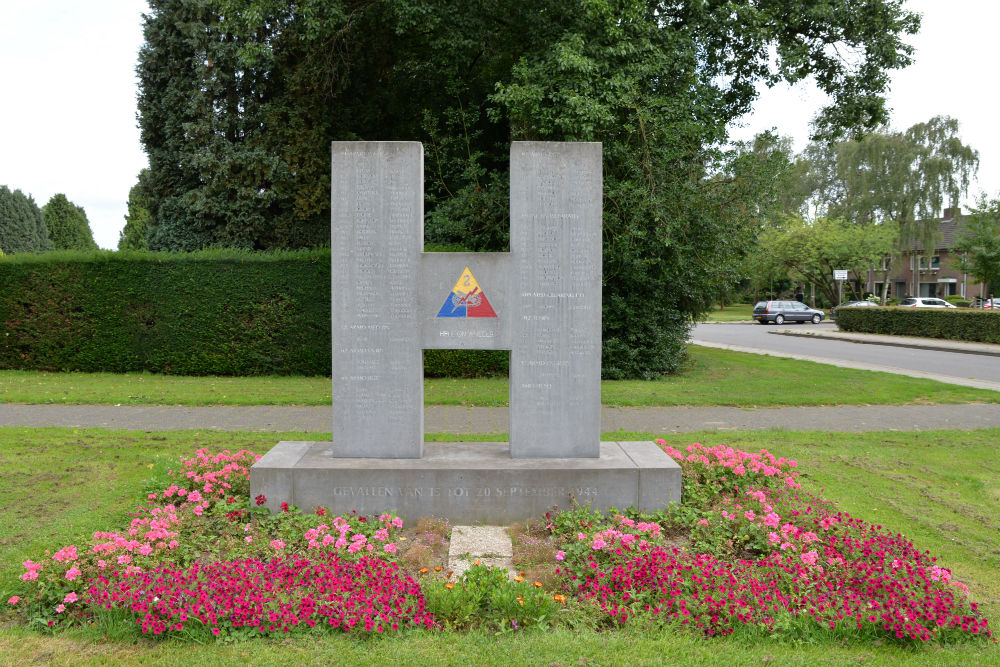 Memorial Second Armoured Division