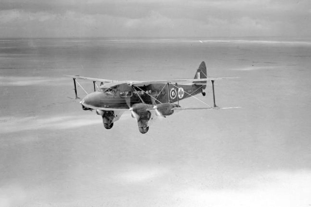 Crash Site De Havilland DH.86 Express AX760