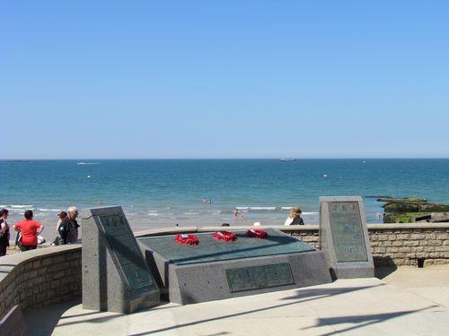 Memorial Artificial Harbour Arromanches