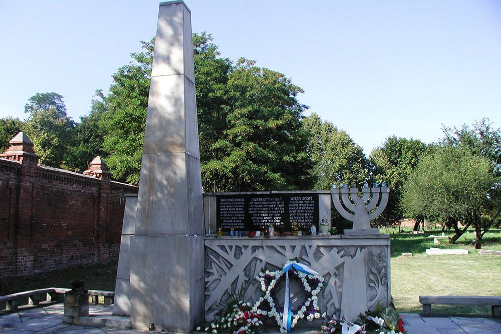 Monument Slachtoffers Litzmannstadt Getto