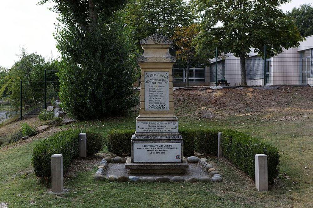 War Memorial Aiglun
