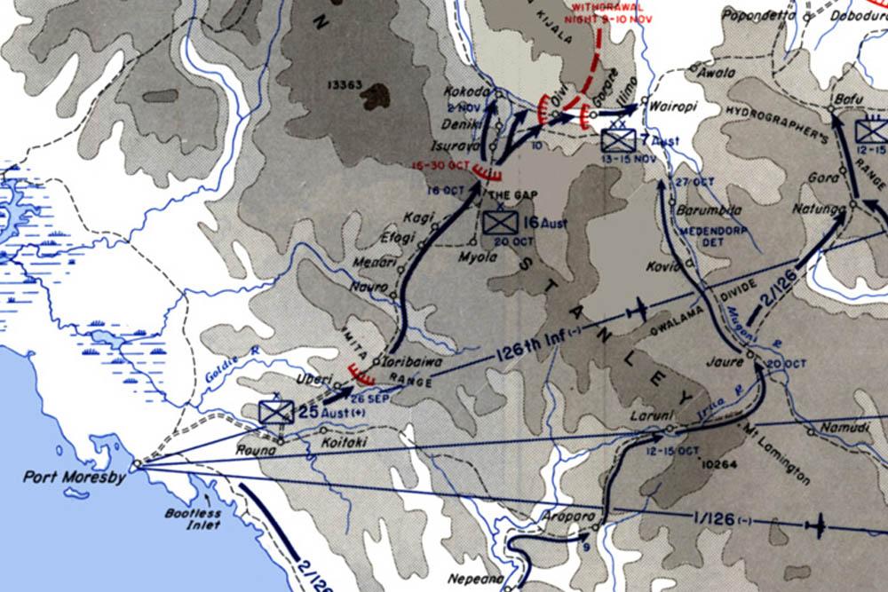 Kokoda Trail - Menari