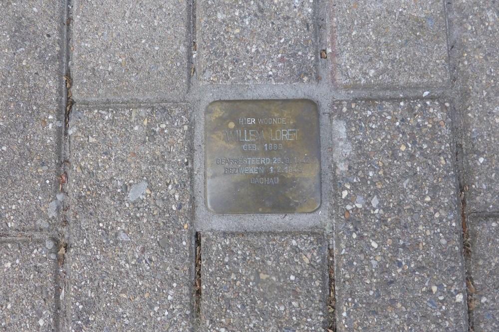 Stolperstein Donckstraat 11