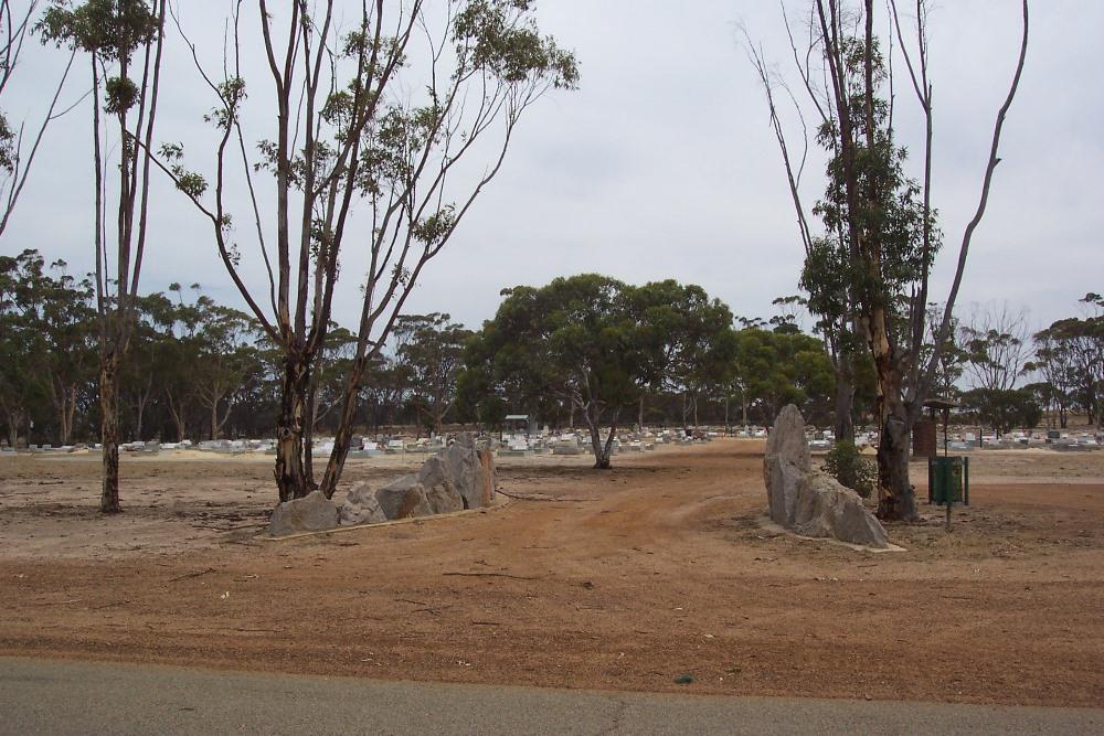 Commonwealth War Graves Gnowangerup Public Cemetery