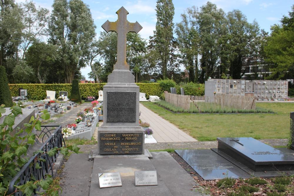 Veteran War Graves Oostrozebeke