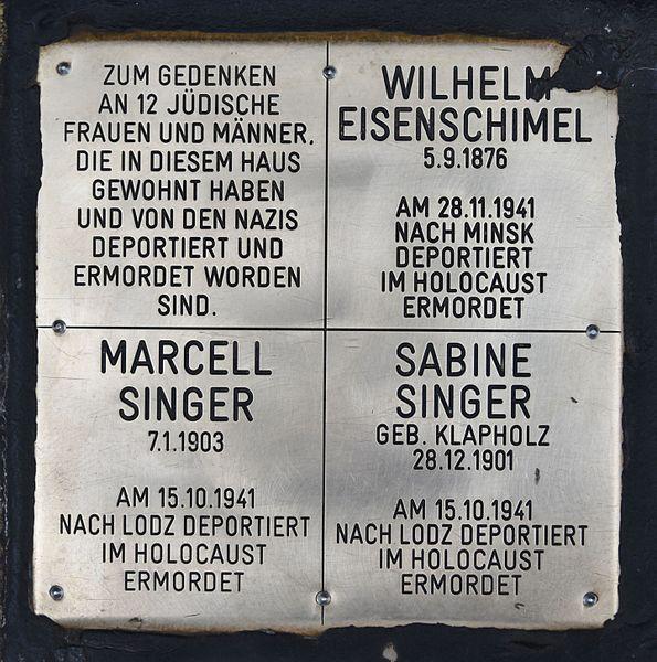 Gedenkstenen Neubaugasse 36