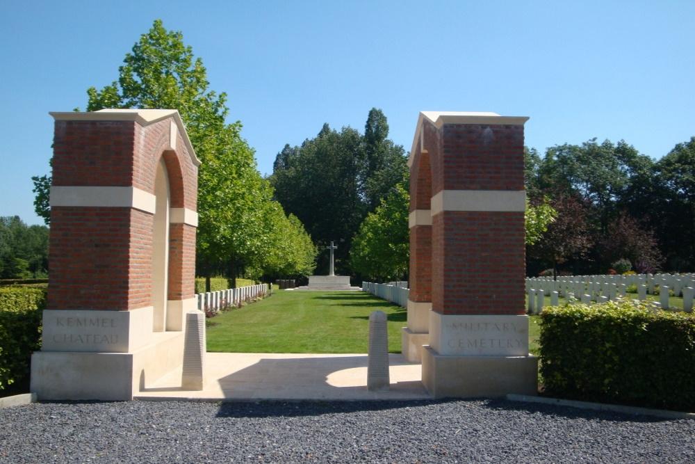 Oorlogsbegraafplaats van het Gemenebest Kemmel Chateau