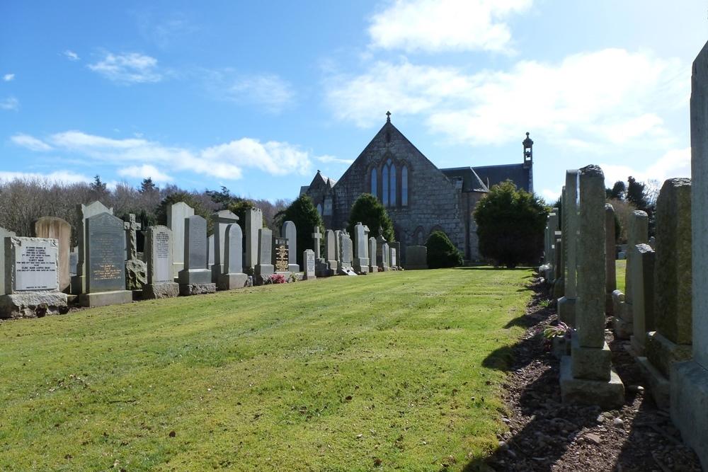 Commonwealth War Graves Dunnottar Cemetery