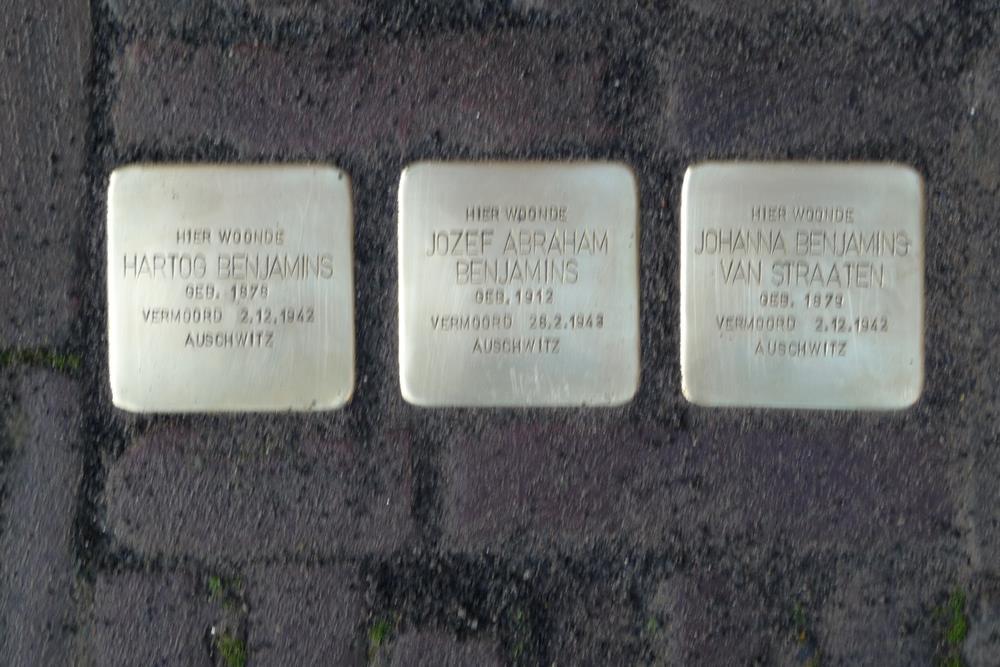 Stumbling Stones Kerkstraat 74