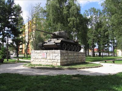 Bevrijdingsmonument (T-34/85 Tank) Kezmarok