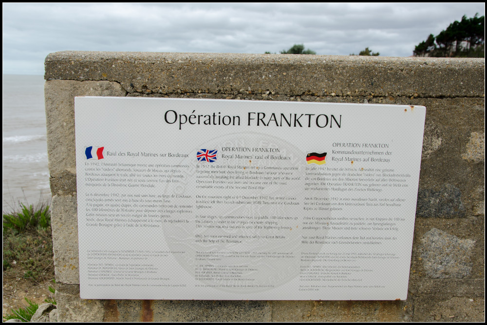 Remembrance Plate Operation Frankton