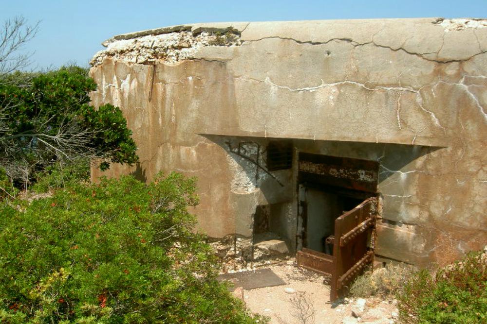 Duitse Bunker Plage du Petit Sperone