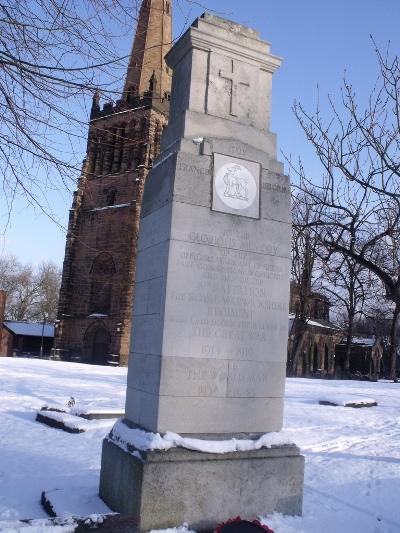 Memorial 8th Battalion The Royal Warwickshire Regiment