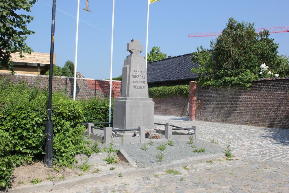 Oorlogsmonument Nukerke