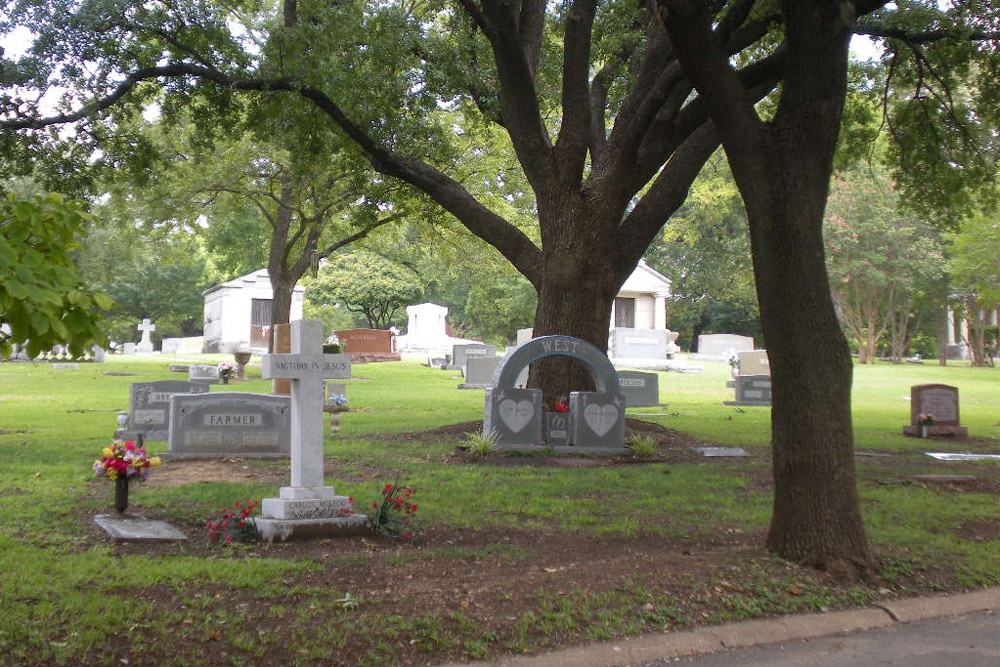 Amerikaanse Oorlogsgraven Grove Hill Memorial Park