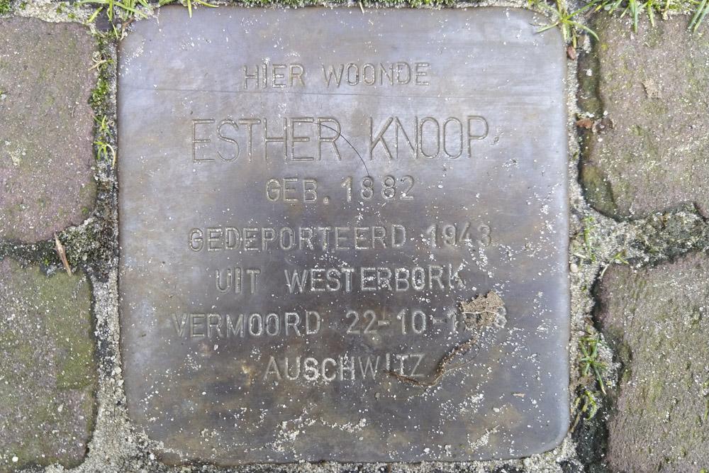 Stolperstein Vondelstraat 3
