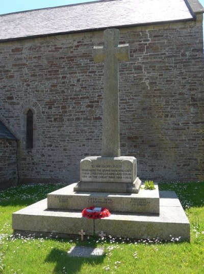 War Memorial St. Helen Church