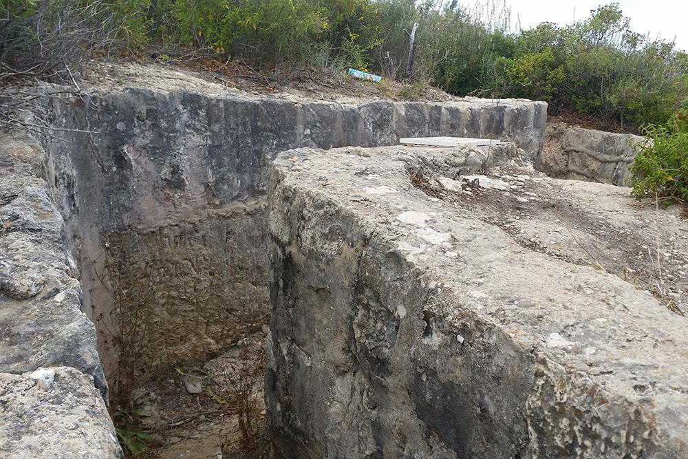 Palestine Final Fortress - British Trench Mount Carmel