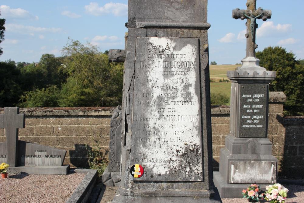 Belgian War Graves Neuvillers