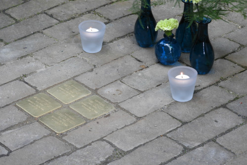 Stumbling Stones Hagelstraat 15a