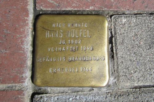 Stumbling Stone Luitpoldstraße 16