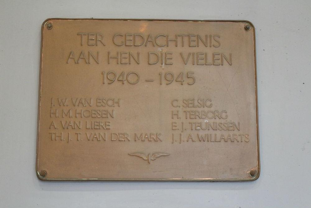 Plaque killed NS Employees Den Bosch