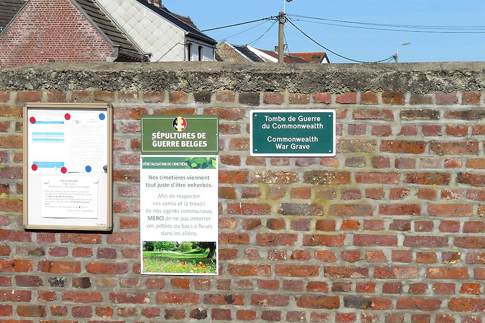 Belgian War Graves Lanaye