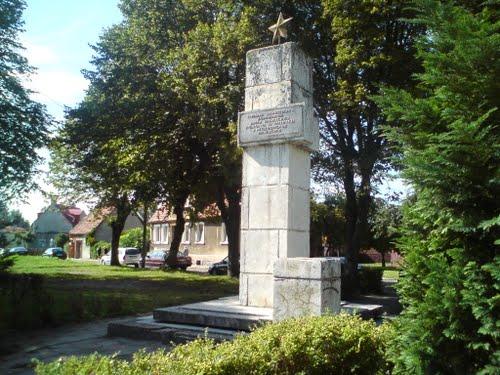 Monument Russische Soldaten Slawno