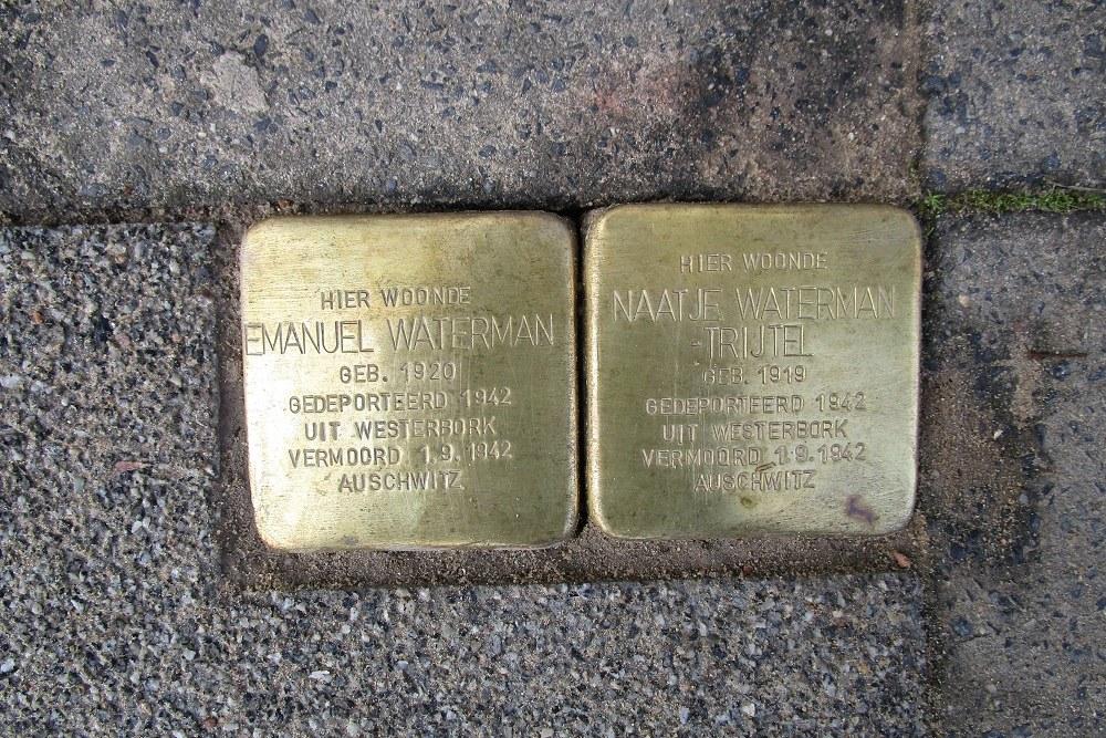 Stumbling Stones Burgemeester Hofmanplein 61B