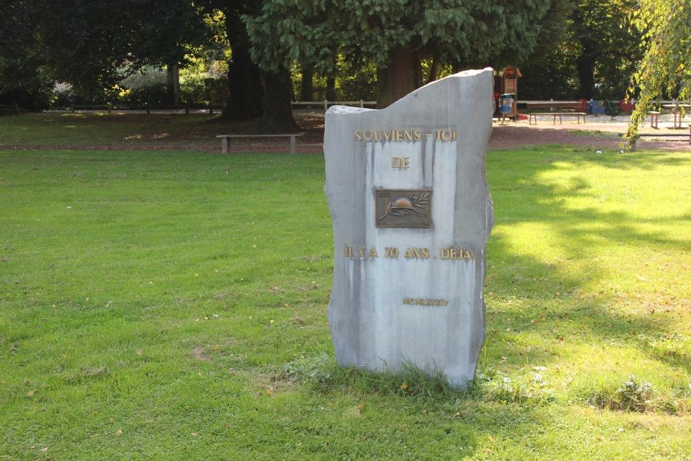 Monument Herdenking Eerste Wereldoorlog & Bevrijding Concentratiekampen Sougné-Remouchamps