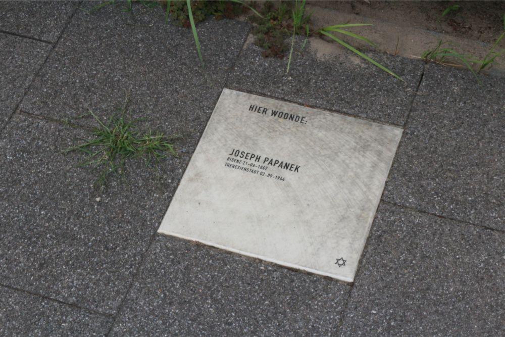 Herdenkingssteen Van de Pollstraat 50