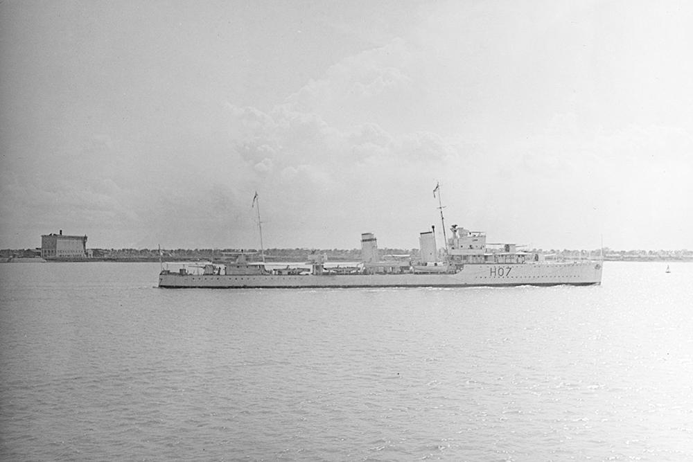 Shipwreck H.M.S. Defender