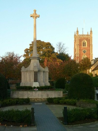 War Memorial St. Albans