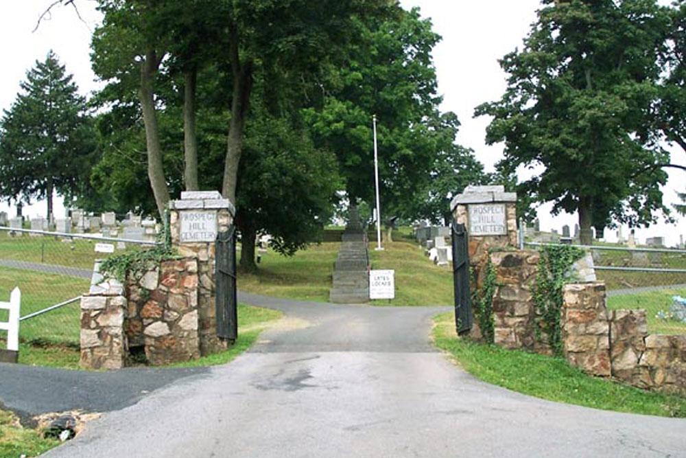 Amerikaanse Oorlogsgraven Prospect Hill Cemetery