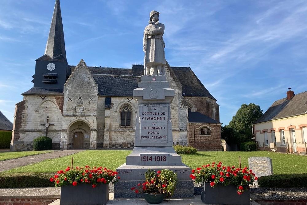 Oorlogsmonument Saint-Maxent