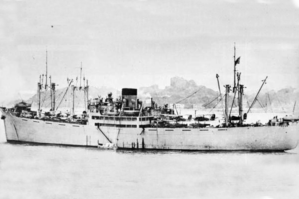 Scheepswrak Kamikawa Maru