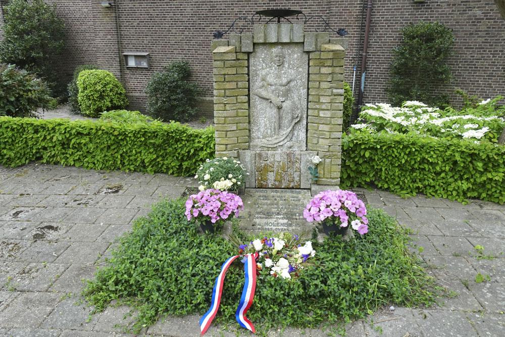 Nederlands Oorlogsgraf Rooms Katholieke Begraafplaats Lutjebroek