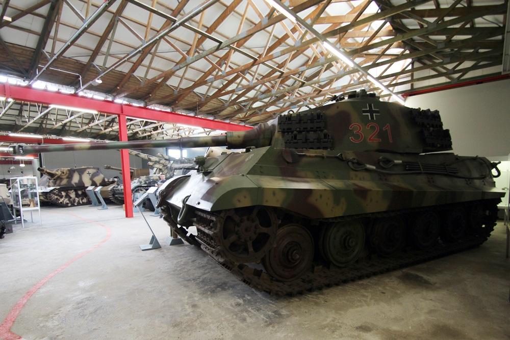 Duits Tankmuseum Munster