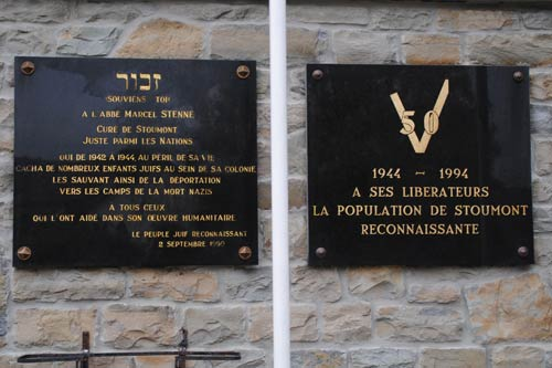 Gedenkplaten Stoumont