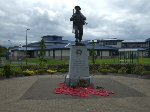 Oorlogsmonument Broxburn en Uphall