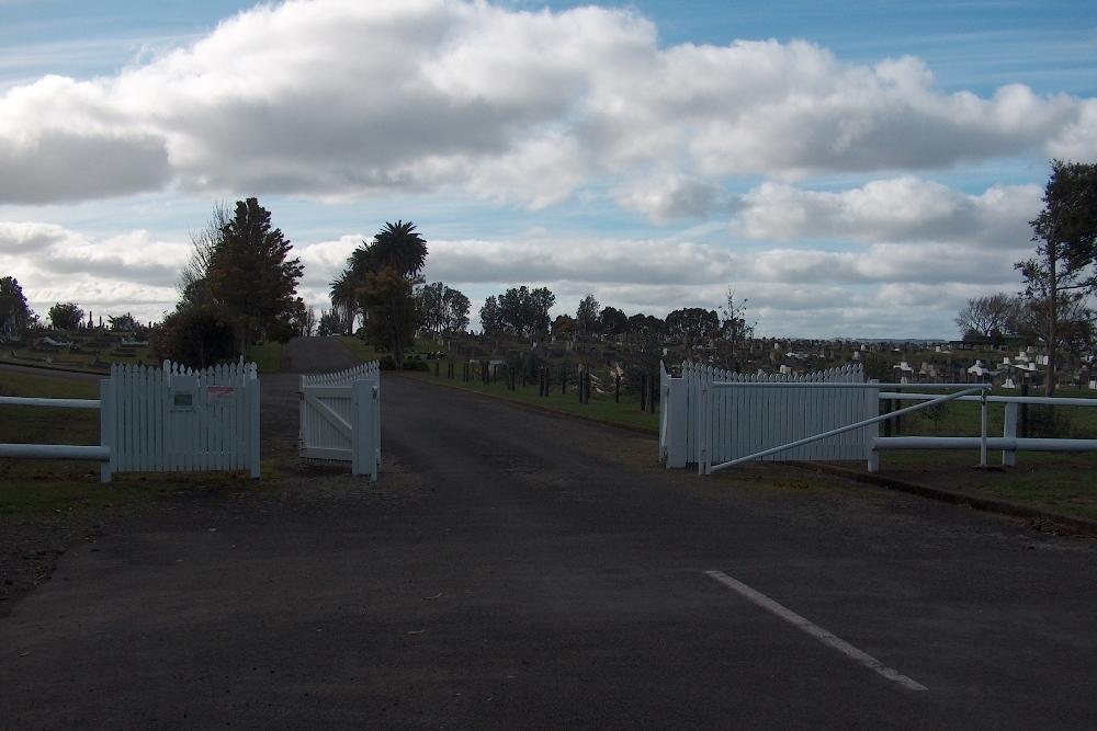Oorlogsgraven van het Gemenebest Hawera Cemetery
