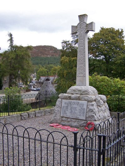 War Memorial Braemar