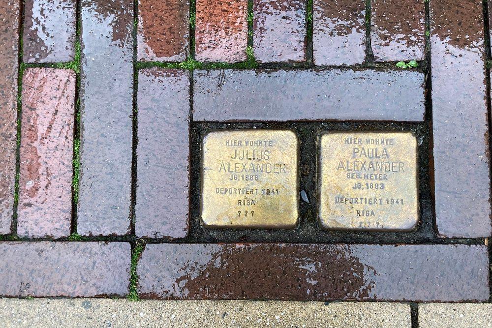 Stumbling Stones Hasestraße 3