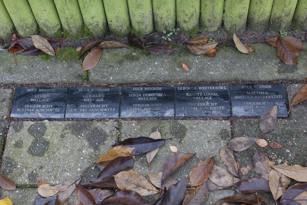 Memorial Stones Abrikozenweg 21