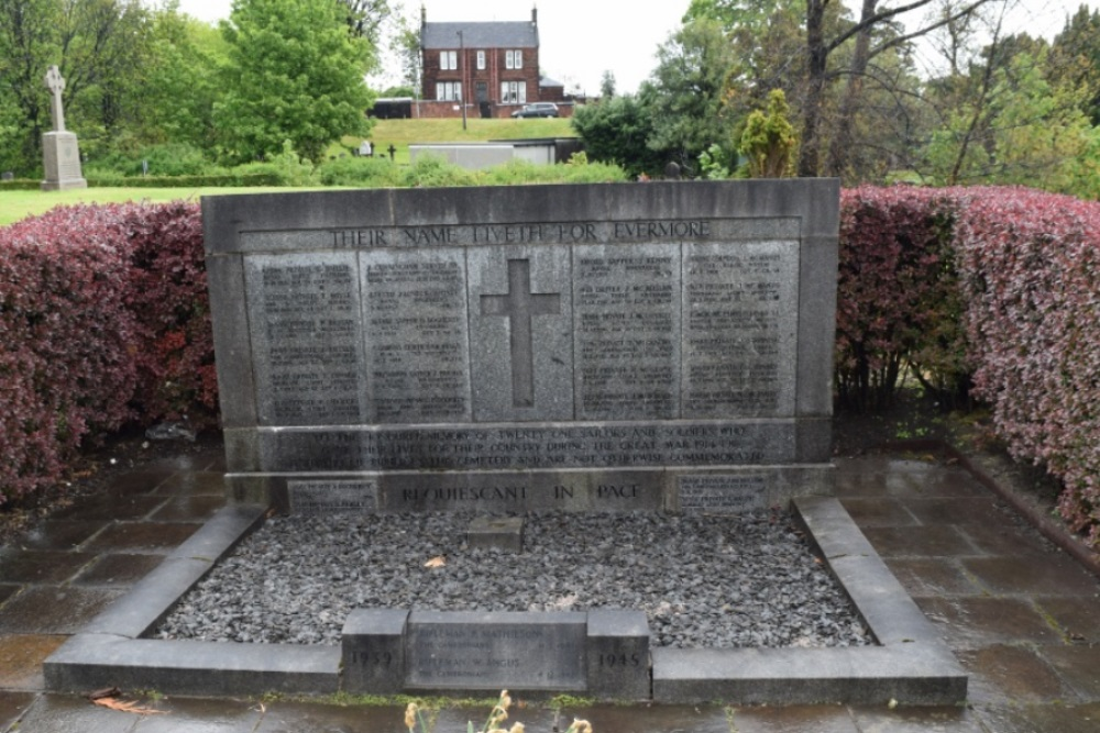 Commonwealth War Graves St. Peter's Roman Catholic Cemetery
