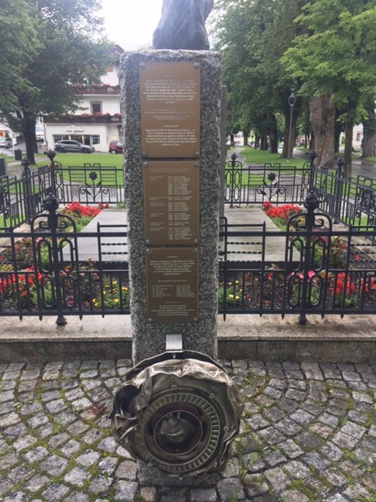Monument Luchtgevecht Ehrwald