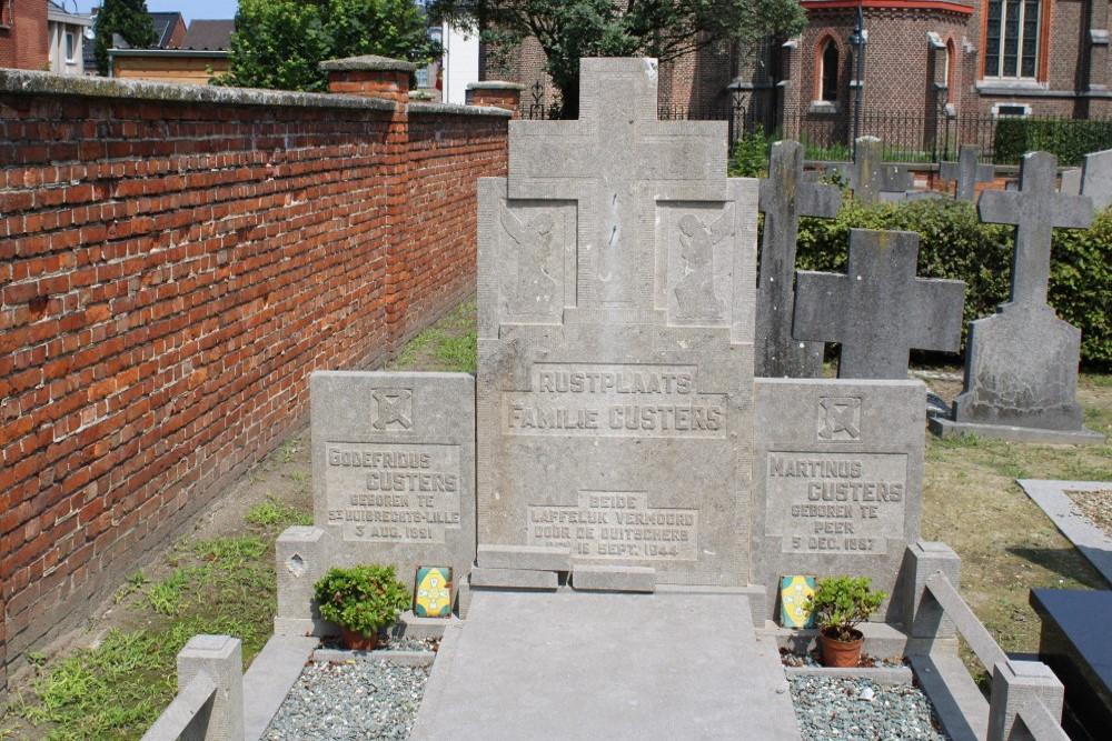 Belgische Oorlogsgraven Sint-Huibrechts-Lille