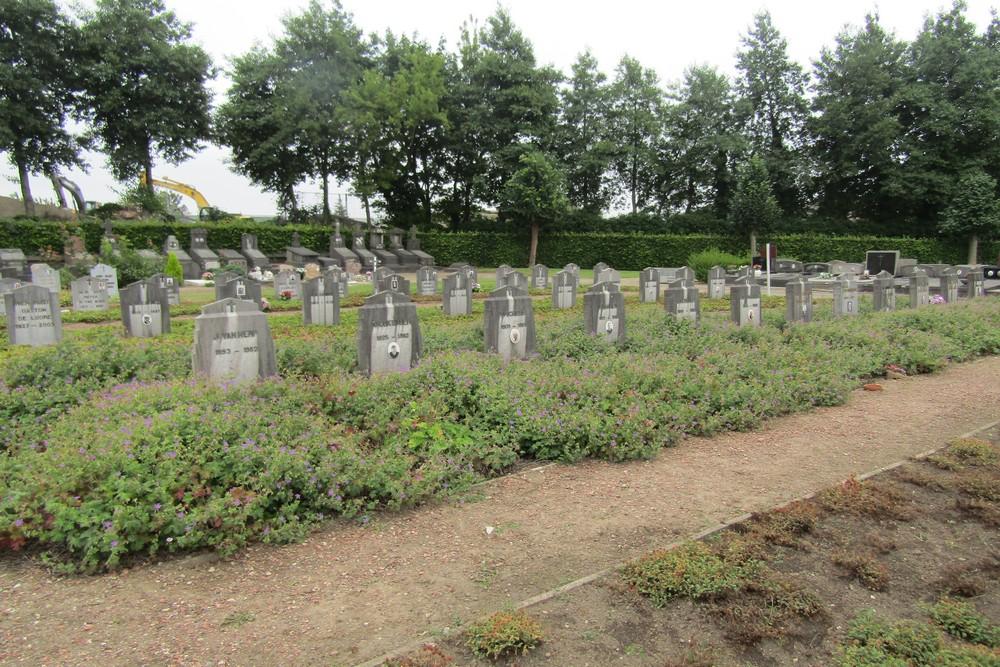 Graves War Veterans Diegem