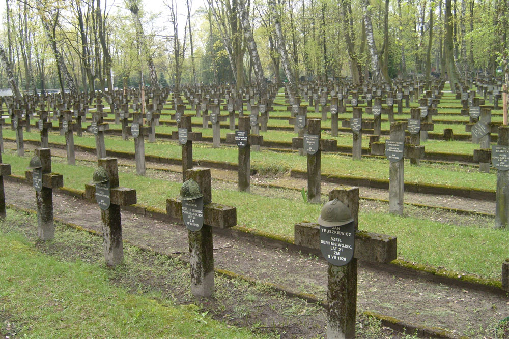 Poolse Oorlogsgraven Cmentarz Wojskowy