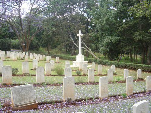 Commonwealth War Graves Nairobi (Forest Road)